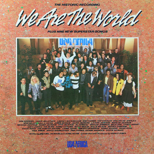 Bruce Springsteen Lyrics WE ARE THE WORLD USA For Africas version
