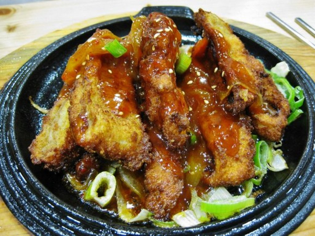 Spicy Pork Cutlet