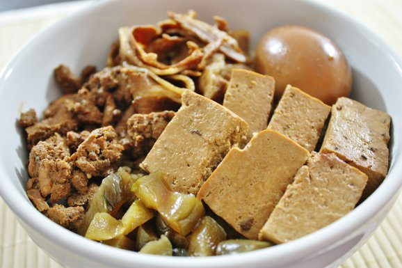 Lu Rou Fan Recipe (卤肉饭 or Braised Meat Rice ) | Spring ...