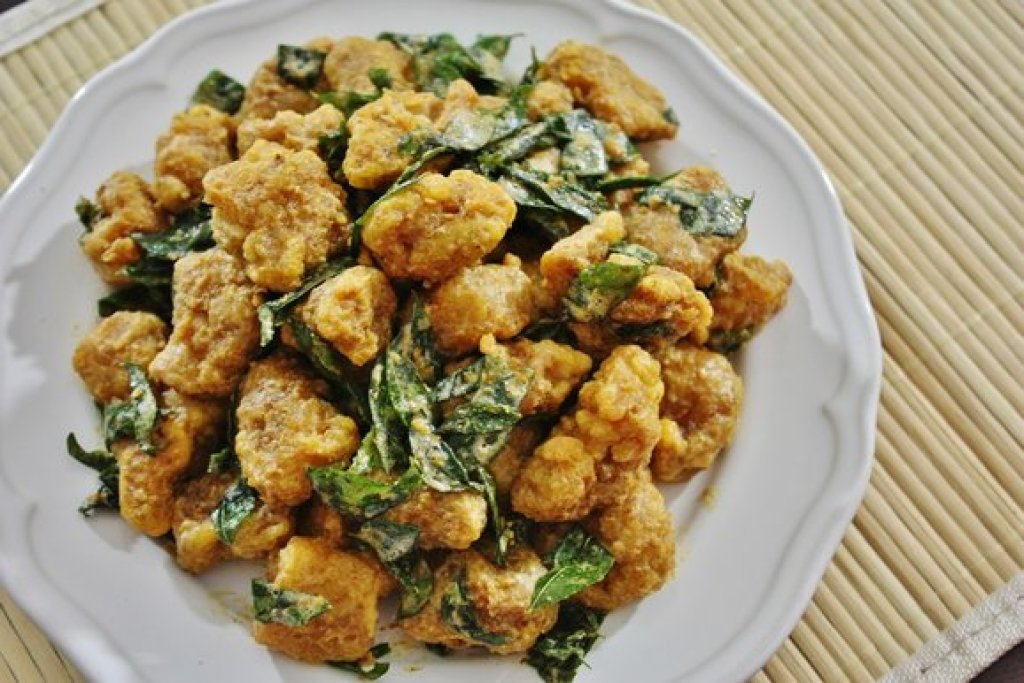 Salted Egg Chicken Recipe