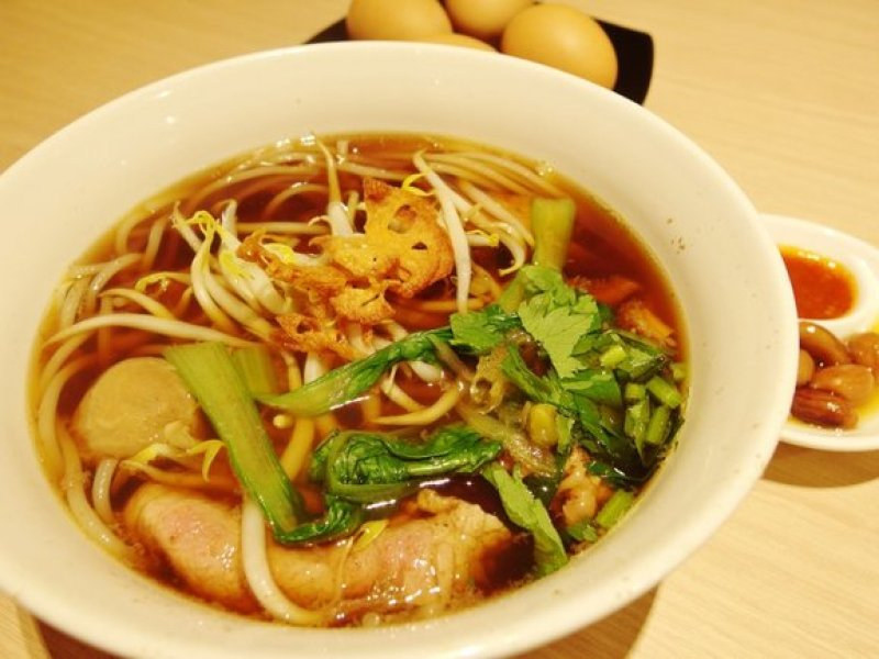 Mixed Beef Soup with Thick Bee Hoon $7.90