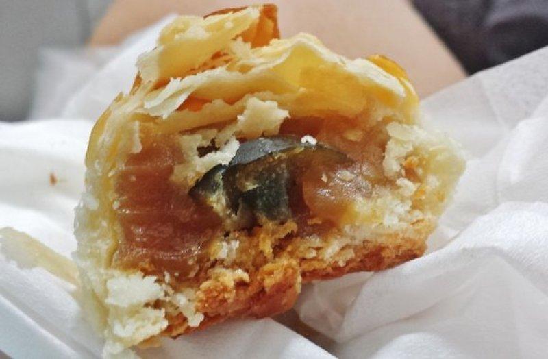 Century Egg Pastry $1.00 - Inside