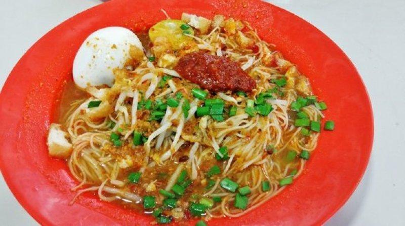 Nonya Curry Mixed Veg Rice Mee Siam