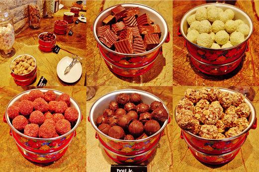 5 types of chocolate truffles!