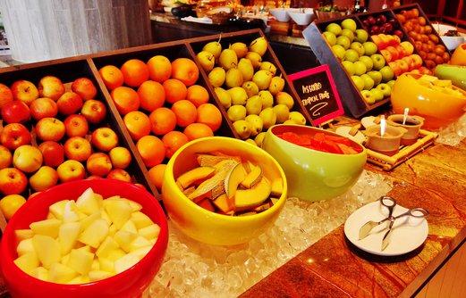 Impressive array of assorted fruits