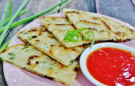 spring onion pancake recipe