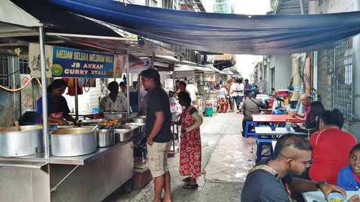 Food Street @ Meldrum Walk, Johor Bahru
