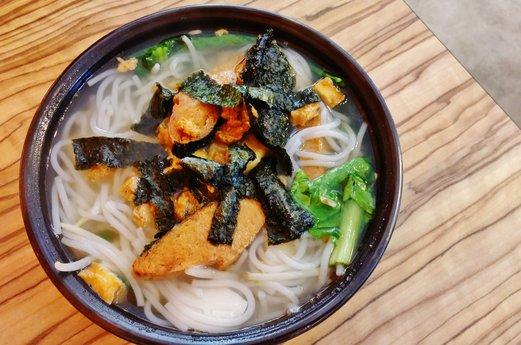 Yuan Vegetarian Bistro Fish Beehoon Soup