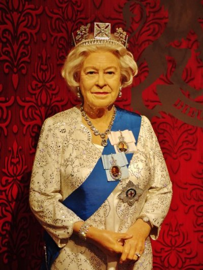 Madame Tussauds Singapore Queen Elizabeth