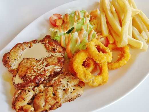 Citrus By The Pool Grilled Chicken Steak