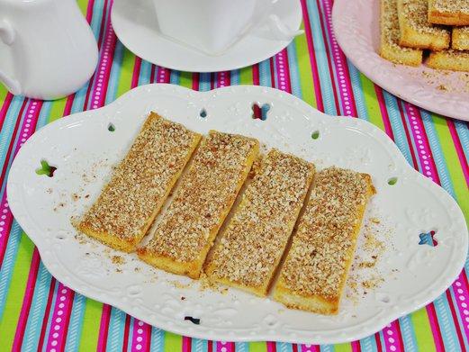 Nutty Breadsticks Recipe