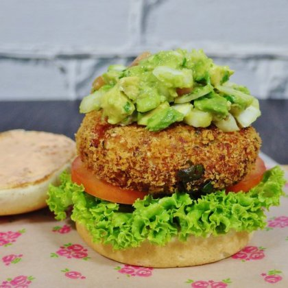 Fish & Shrimp Burger Recipe