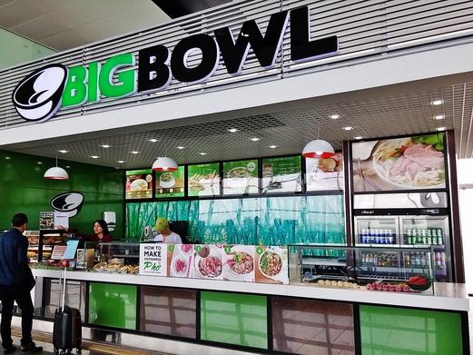Big Bowl at Noi Bai International Airport
