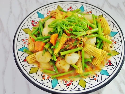 Stir Fried Scallops with XO Sauce Recipe