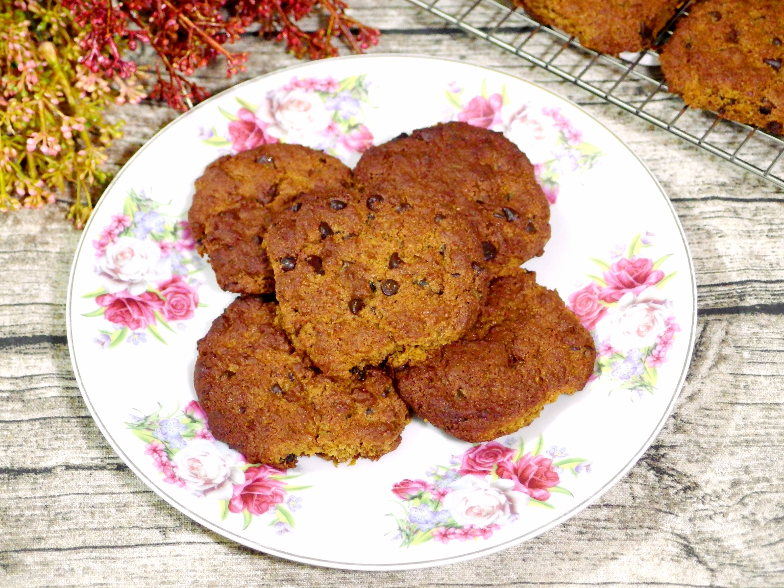 Sea Salt Gula Melaka Chocolate Chip Cookies Recipe