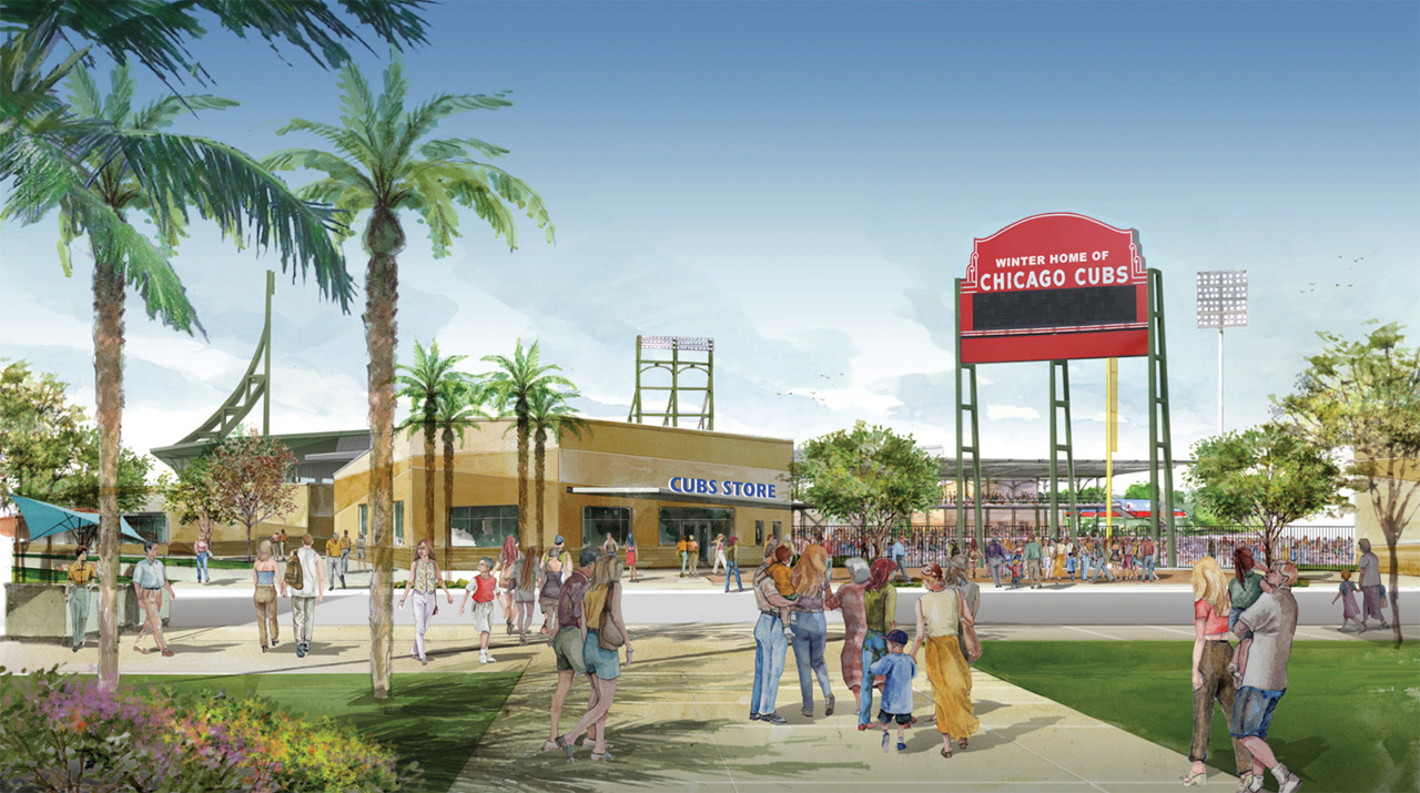 Preview New Chicago Cubs spring training facility