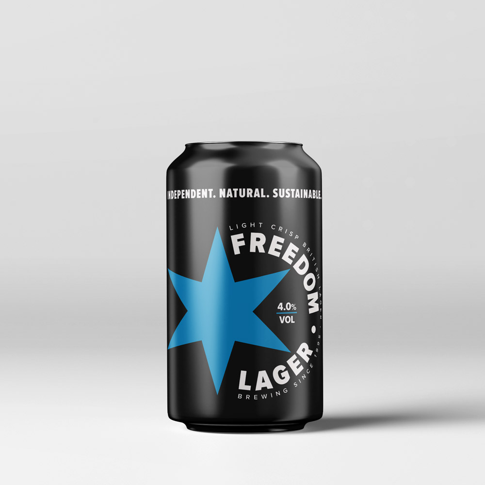 Freedom Brewery — Freedom Lager (4.0%)