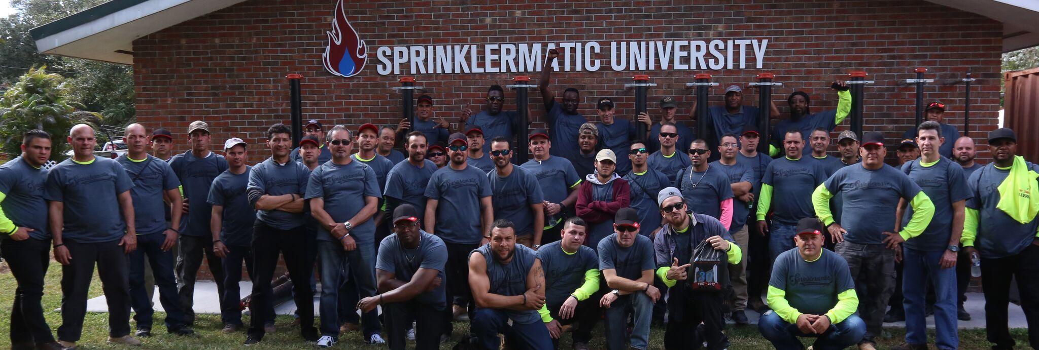 sprinklermatic university fire protection
