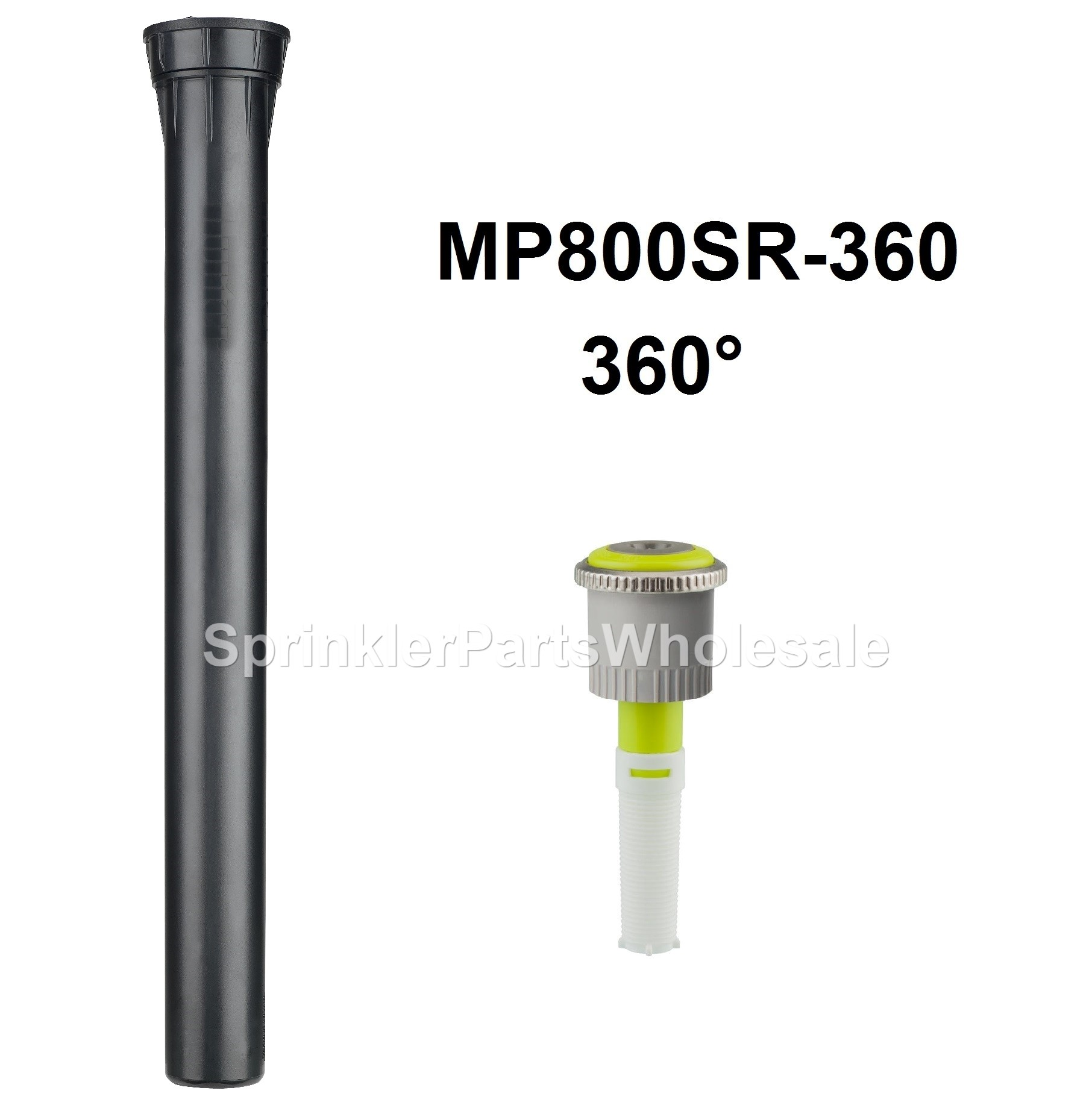 Hunter Pros 12 Nsi 12 Pop Up Pro Spray Head No Side Inlet Mp Rotator Nozzle Sr