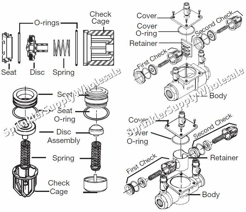 Watts 007 M1 Total Repair Kit 3/4