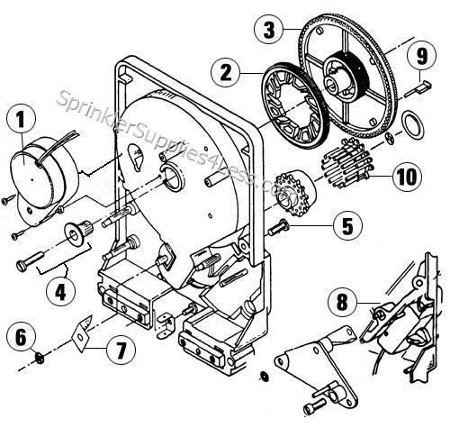Hydrotek P1122025 Motor 220 VAC-60HZ