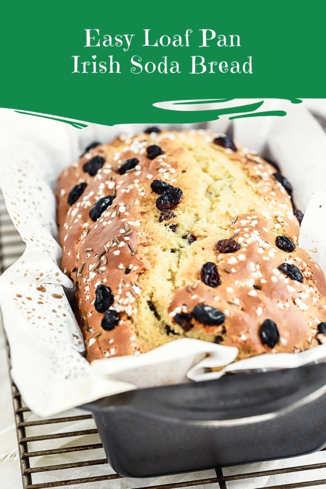 Easy Loaf Pan Irish Soda Bread