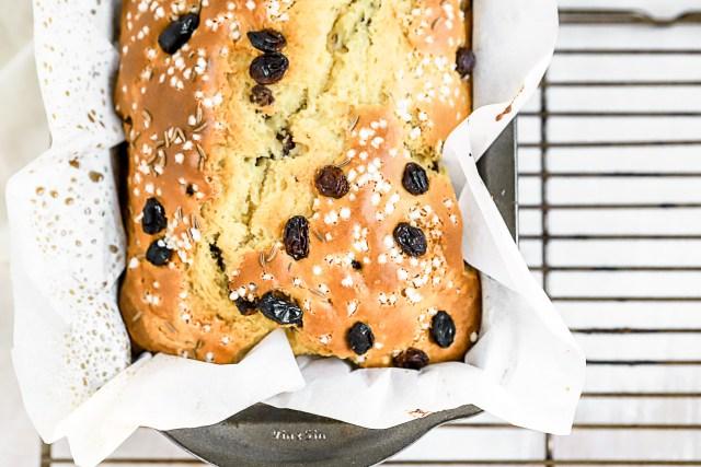 loaf pan irish soda bread