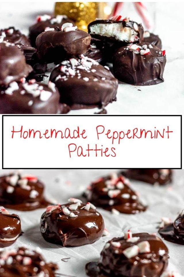Homemade Peppermint Patties