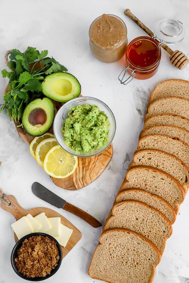 Breakfast Toast 3 Ways