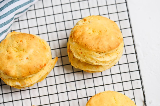 Sweet Pepper Biscuit