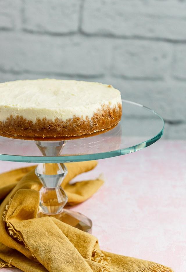 Instant Pot Mascarpone Cheesecake Sprinkles Amp Sea Salt
