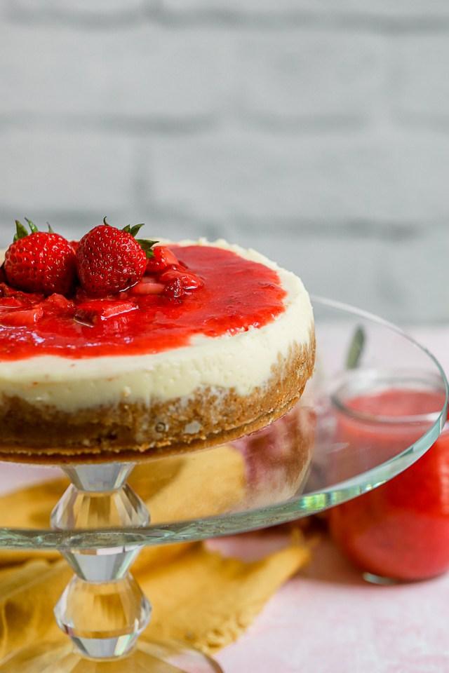 Instant Pot Mascarpone Cheesecake