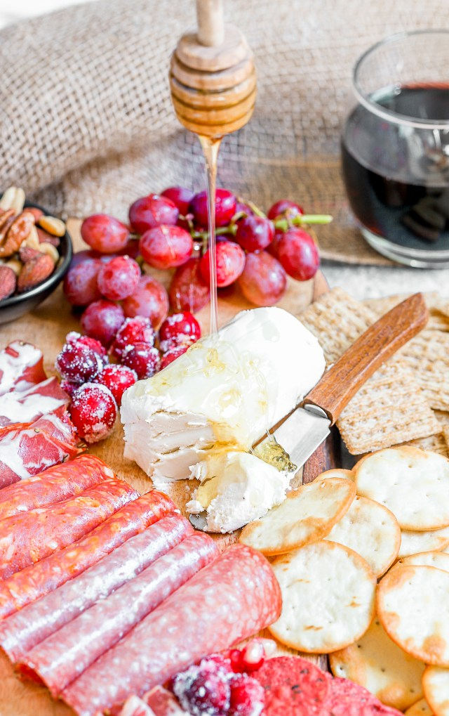 Holiday Goat Cheese Board