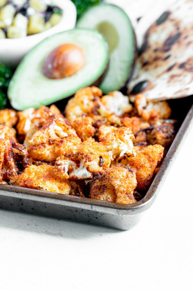 Air Fryer Blackened Cauliflower
