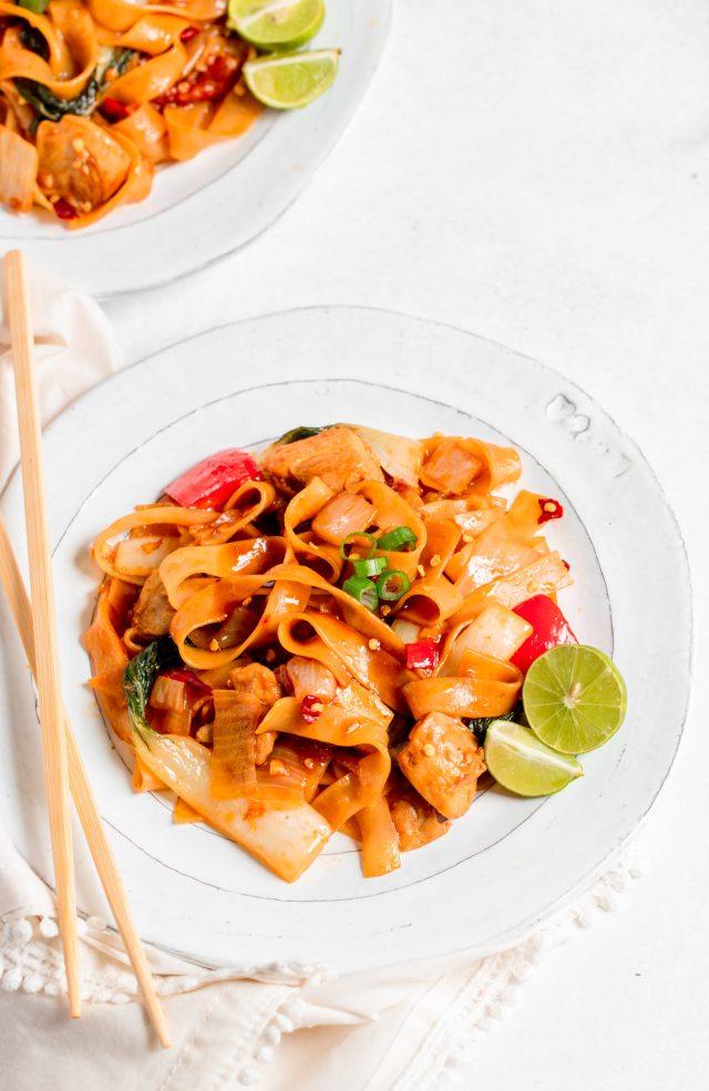 30 Minute Thai Drunken Noodles