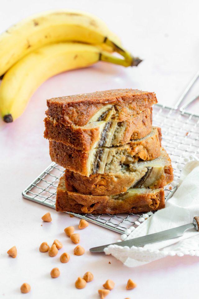 The Best Butterscotch Banana Bread
