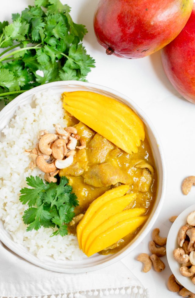Instant Pot Mango Chicken Curry