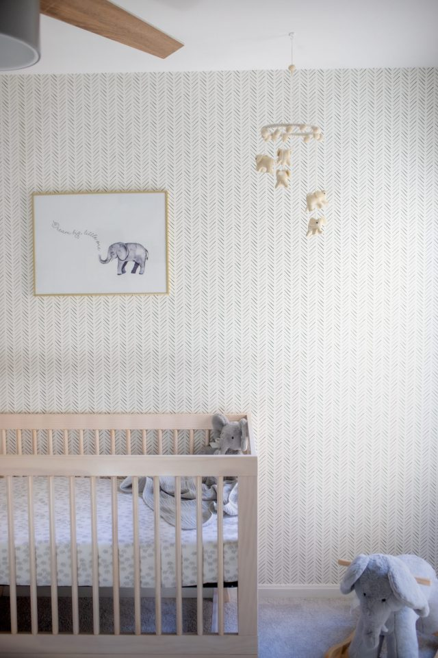 Modern Neutral Baby Nursery