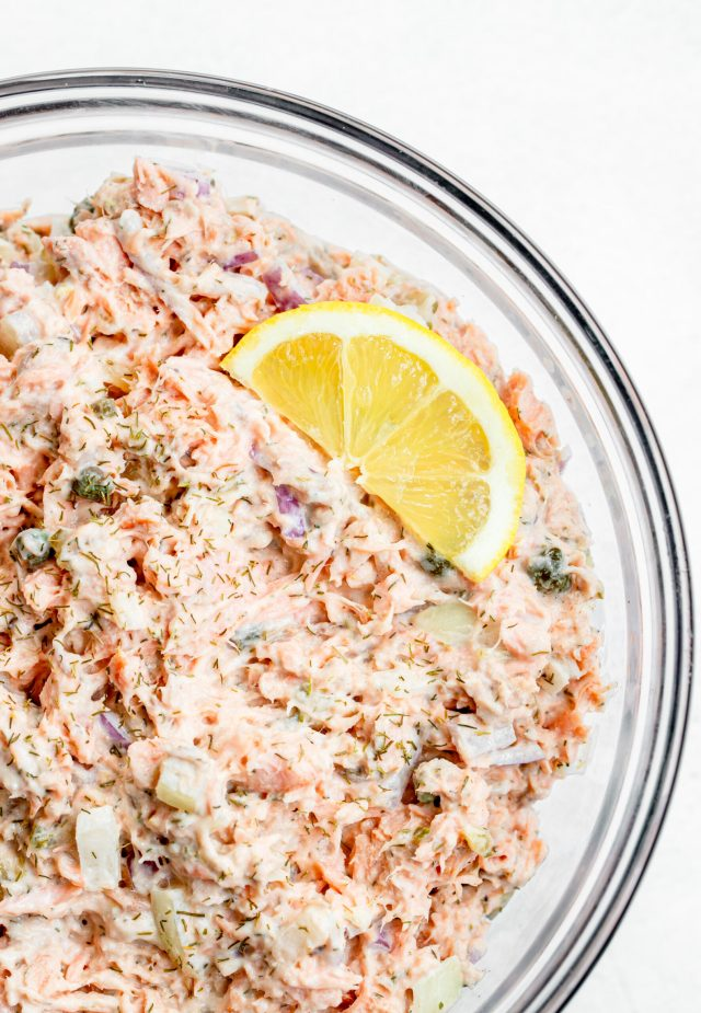The Best Salmon Salad