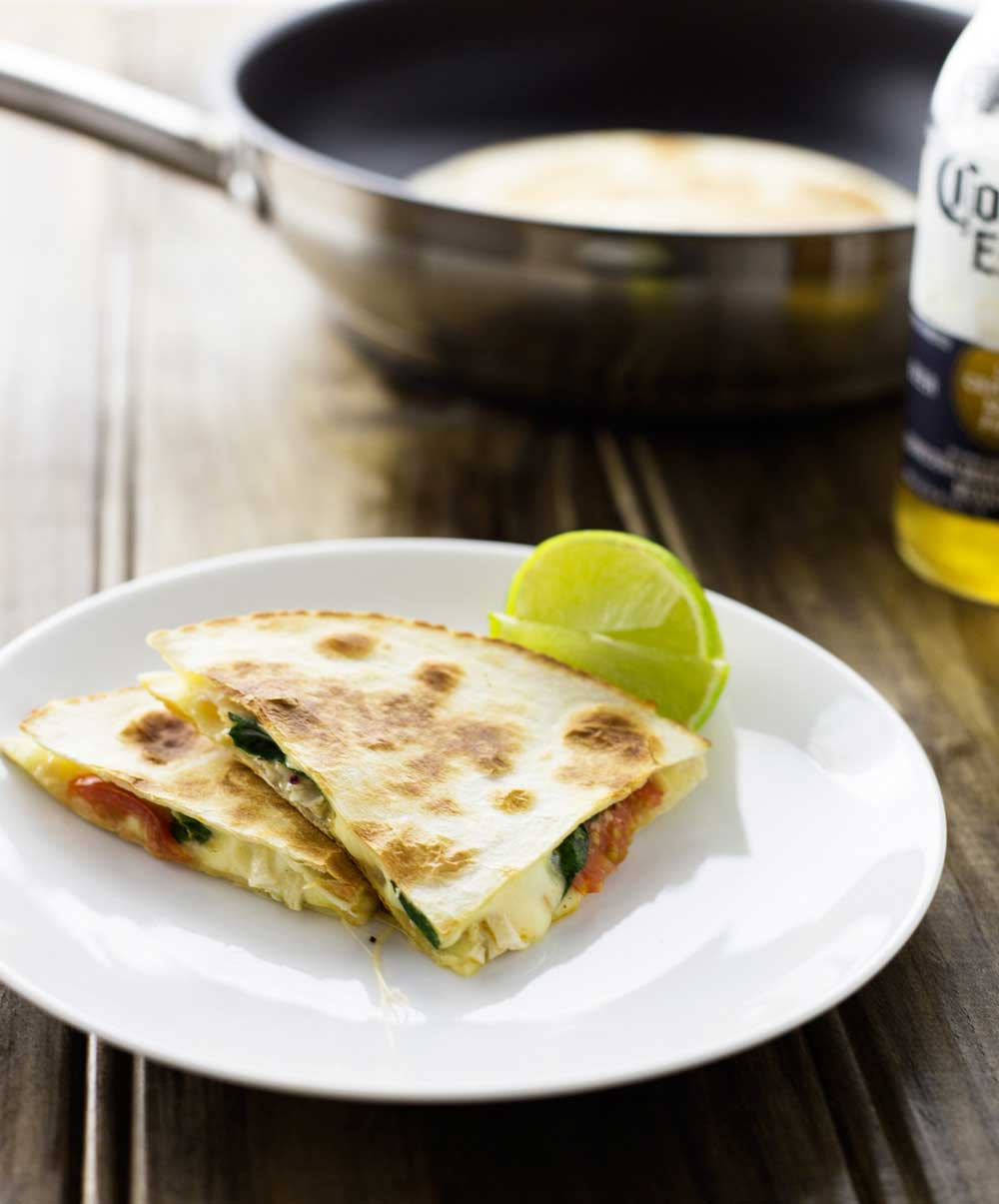Cajun Chicken Quesadillas Cheesy Spicy Chicken Filled Tortillas Grilled  Until Crisp And Melted A