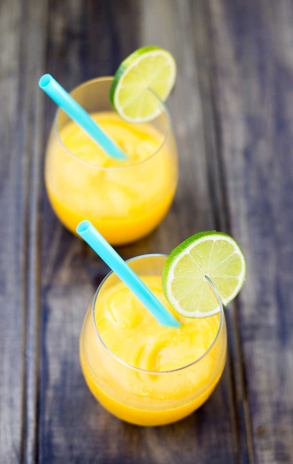 Juicy Mango, A Hint Of Lime And A Shot Of Vodka Simple, Cooling