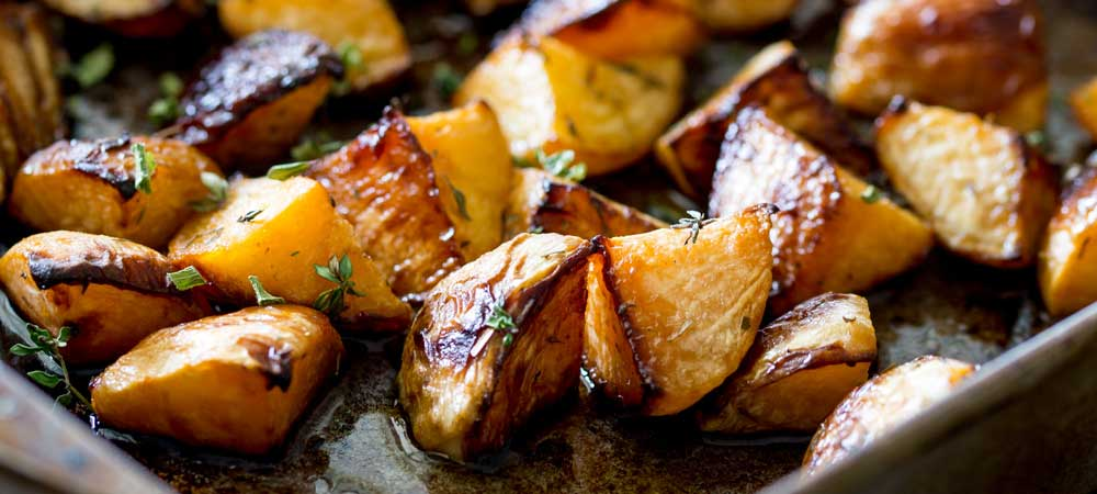 Roasted Rutabaga with Maple Syrup | Sprinkles and Sprouts