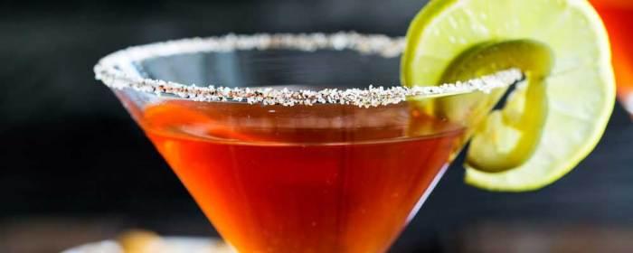 Spiced Capsicum Martini