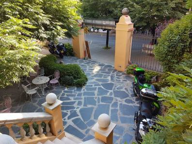 Bikes in the Courtyard