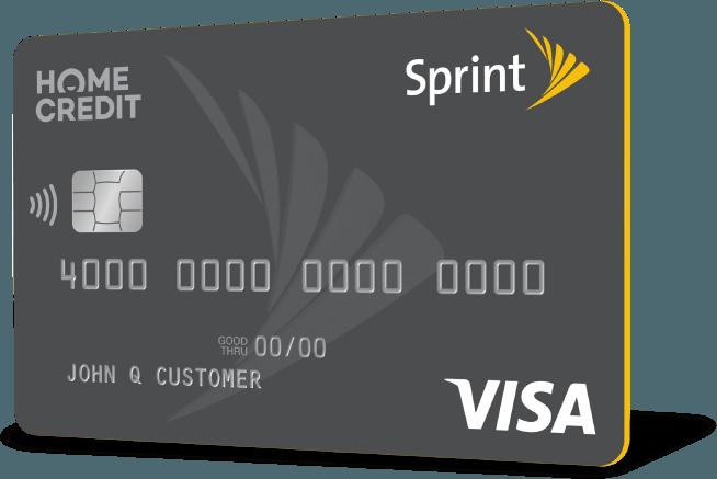 sprint credit card