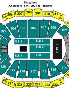View seating chart tickets also eagles sprint center rh sprintcenter