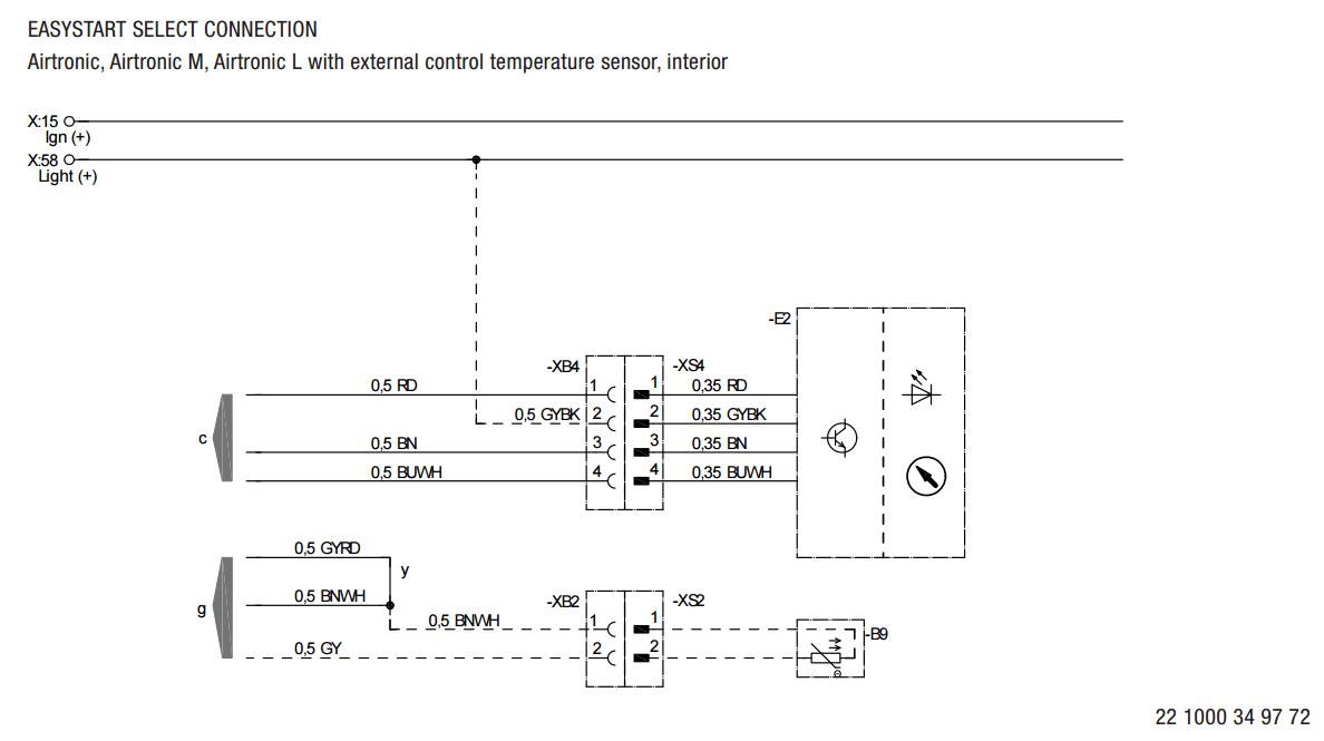 Diesel Heater Electrical Controller Instructions Truma Caravan Wiring Diagram