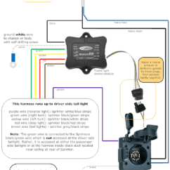 Trailer Connector Wiring Diagram Of Motor Bike Hitch