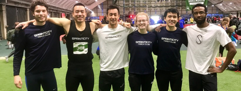 Sprinticity Team Photo at Dartmouth