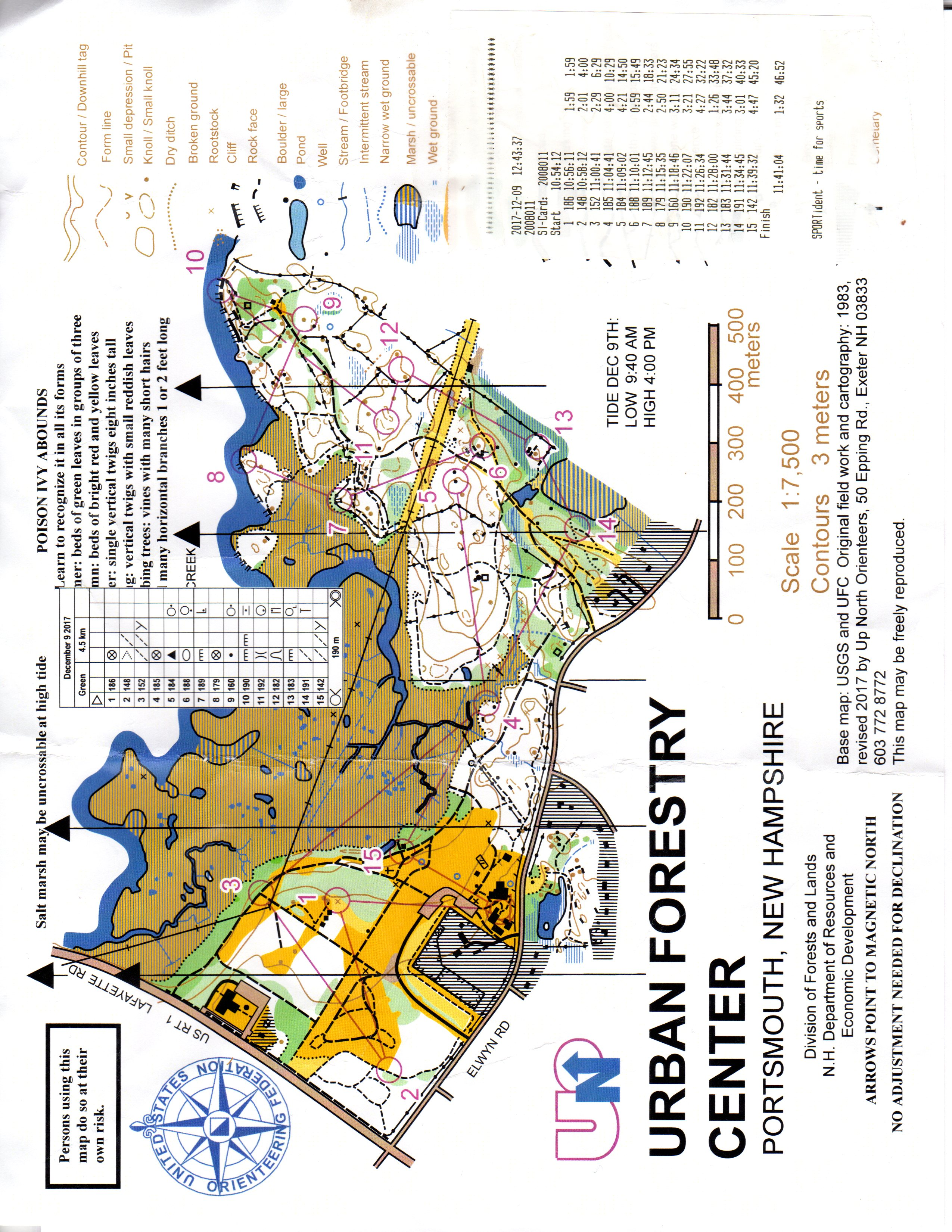 See 29 photos and 2 tips from 200 visitors to urban forestry center. Urban Forestry Center Green December 9th 2017 Orienteering Map From Jim Arsenault